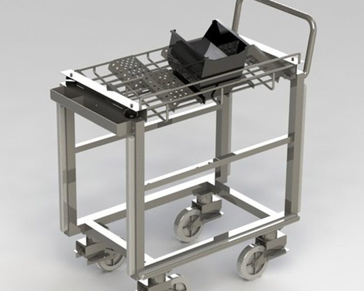 WIP-transport-cart-for-factory