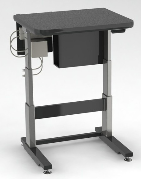 adjustable height workstation