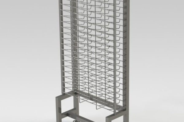 custom-WIP-rack-for-semiconductor-manufacturing-facility