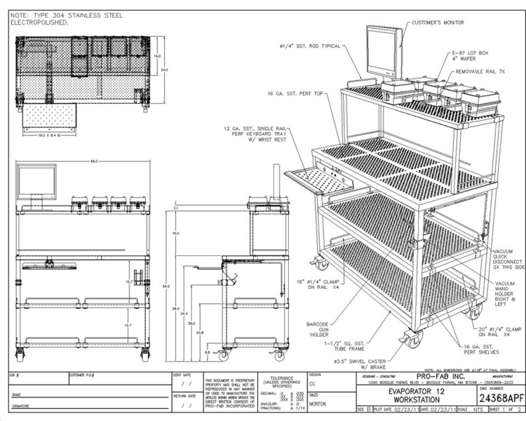 Evaporator Workstation